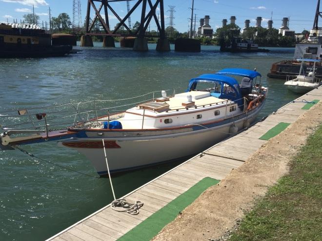 Namaste a powerboat