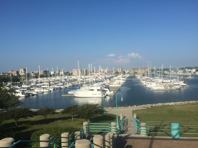 Beautiful Racine Harbor