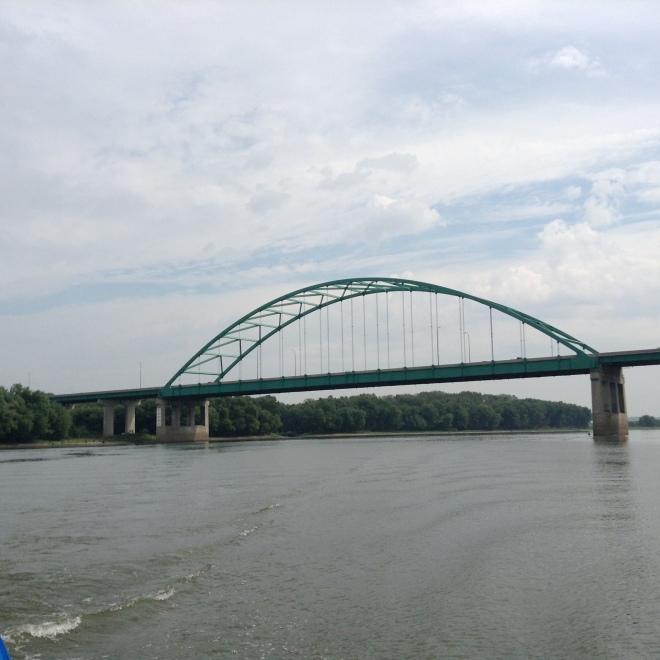 The Abraham Lincoln bridge.  We are in Lincoln Douglas Debate territory!