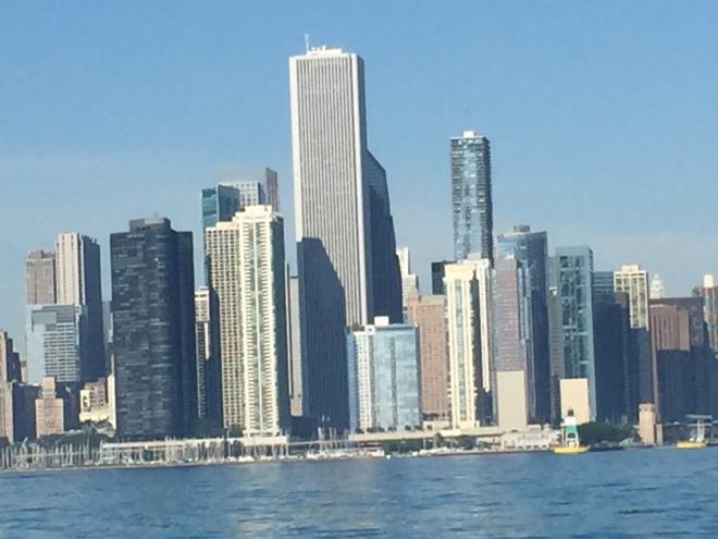 Chicago Skyline from Namaste
