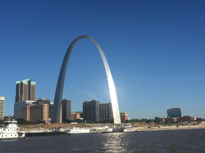 The St. Louis Arch - gateway to the west!