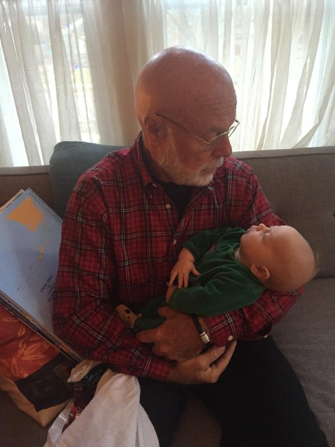 Grandpa and Cedar