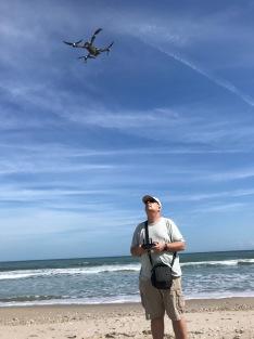 A drone. . .